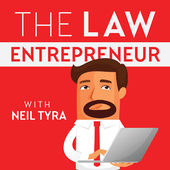 Neil Tyra - The Law Entreprenuer podcast logo