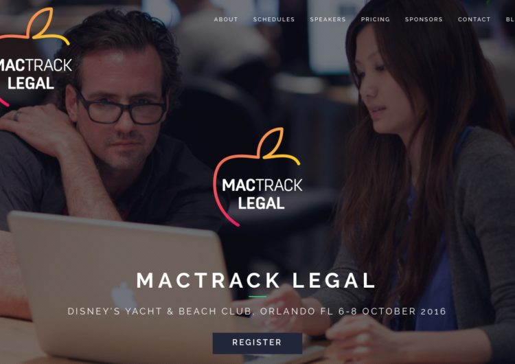 MacTrack Legal 2016 - Brett Burney speaking to Mac-using lawyers