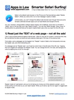 Smarter Safari Surfing for newsletter subscriptions
